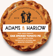 Oak Smoked Tomato Pie