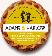 Pork and Mustard Pie